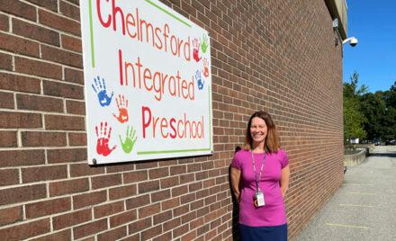 Chelmsford Integrated Preschool Coordinator Megan McGuirk